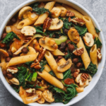 Tomato Pasta with Black Chickpeas