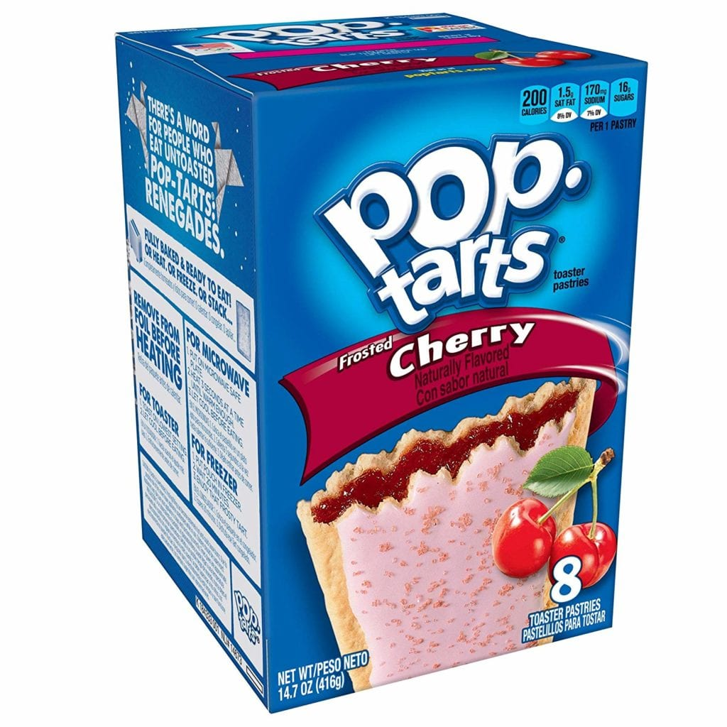 9. Frosted Pop Tarts